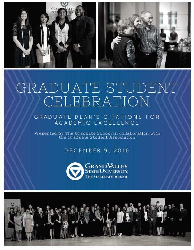 Dean's Citation Awards Fall 2016